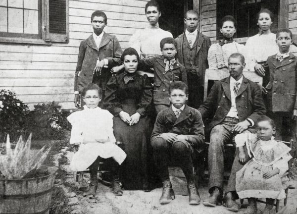 Early settlers of North Brentwood, Maryland. Photo courtesy of Prince Georges African-American Museum and Cultural Center at North Brentwood.