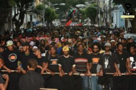 'Third March Against the Genocide of Black People' – Salvador, Bahia. Monday, August 24, 2015 – Photo: Akin Foco