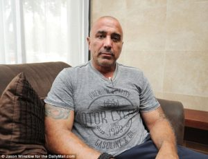 Dallas police officer Nick Novello, 62, accused his police chief David Brown of failing the public. Image courtesy of the Daily Mail.