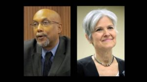 Jill Stein and Ajamu Baraka, Green Party presidential and vice presidential candidates (YouTube)