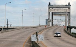The Danziger Bridge in New Orleans. Photo by the Associated Press.