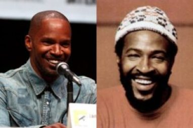 Jamie Foxx and Marvin Gaye (Gage Skidmore/Flickr/Billboard)