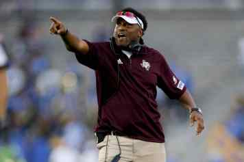 Texas A&M Coach Texas A&M Coach Kevin Sumlin