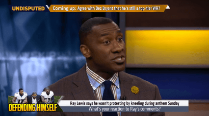shannon sharpe ray lewis