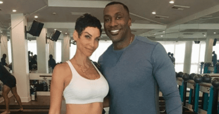 shannon sharpe nicole murphy photo