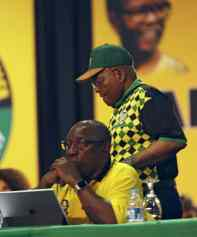 South Africa Leadership Fight