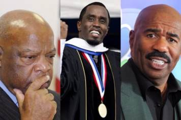 John lewis, Puff Daddy, Sean Combs, Steve Harvey