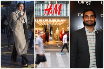 Meghan Markle, H&M, Aziz Ansari