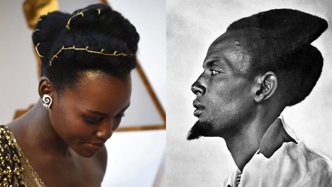 Lupita Nyongo Rocks Hairstyle Inspired By Rwandan Culture