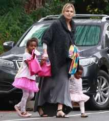 black adopted children