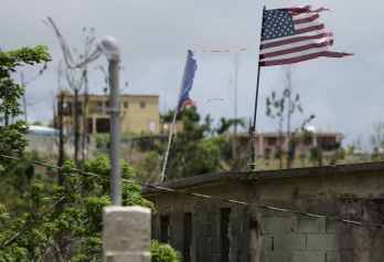 Hurricane recovery Puerto Rico