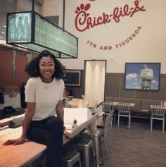 Ashley Lamothe Chick-fil-a