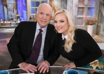 Meghan McCain father