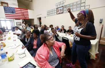 black female voters