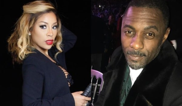 K. Michelle Slams Idris Elba For Not Backing Her Up About Their Relationship