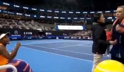 Sloan Stephens Stands Her Ground In Argument With Anastasia Pavlyuchenkova
