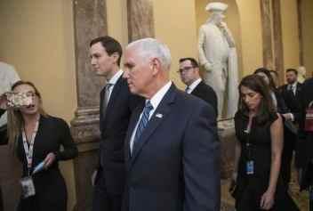 Mike Pence, Jared Kushner