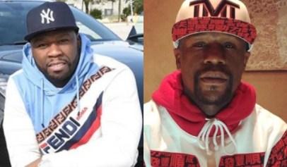 50 Cent clowns Floyd Mayweather for refusing to boycott Gucci.