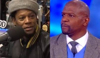 D.L. Hughley responded to Terry Crews asking if he should slap him.