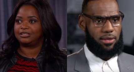 Octavia Spencer said LeBron James helped her get higher pay on a Madam C.J. Walker project they're working on together.