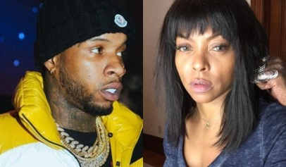 Tory Lanez got clowned for shooting his shot at an engaged Taraji P. Henson.