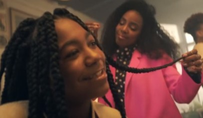 """The two Louisiana girls who were kicked out of school for having braids were tapped to be in Kelly Rowland's """"Crown"""" Video."""