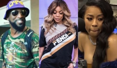 Ricky Smiley sent Wendy Williams some well-wishes that were shut down my Keyshia Cole.
