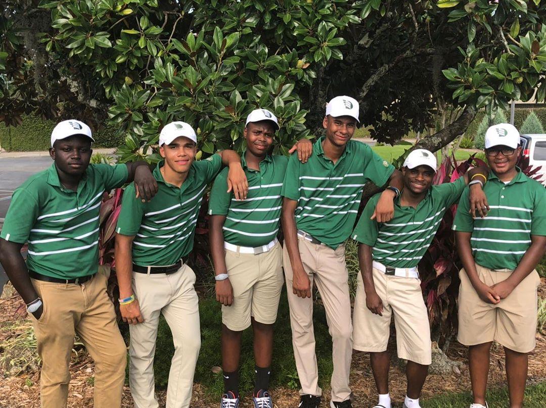 Charles R. Drew Public Charter School Golf Team