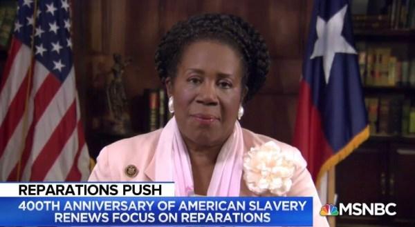 Congresswoman in pink suit