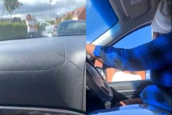 U.K. Road Rage Incident
