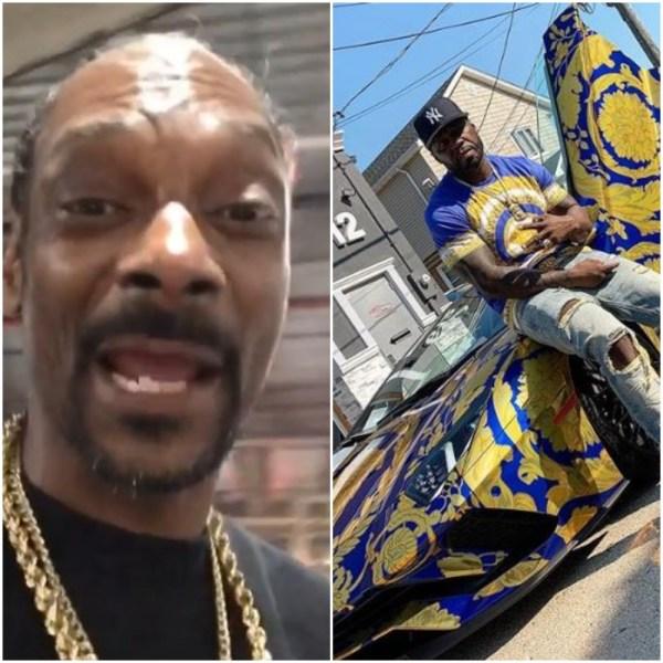 Snoop and 50 car