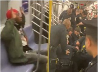 Cops ambush unarmed Black man