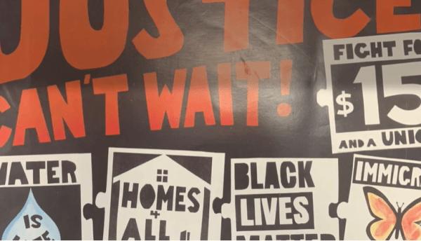 Black Lives Matter artwork