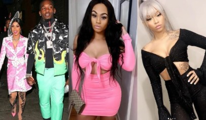 Offset responded to an accusation that he tried to set up a threesome with Cuban Doll while Cardi B was pregnant