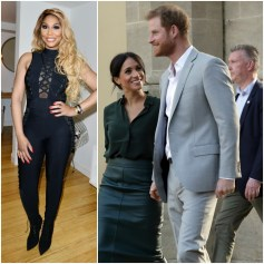 Tamar Braxton, Prince Harry and Megan Markle