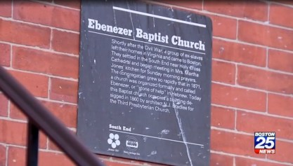 Ebenezer Baptist Church Boston