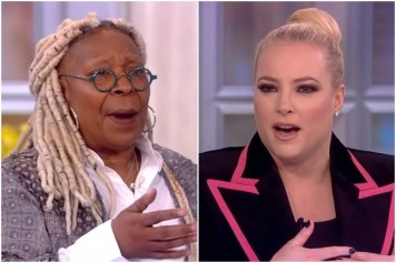 Whoopi Goldberg and Meghan McCain