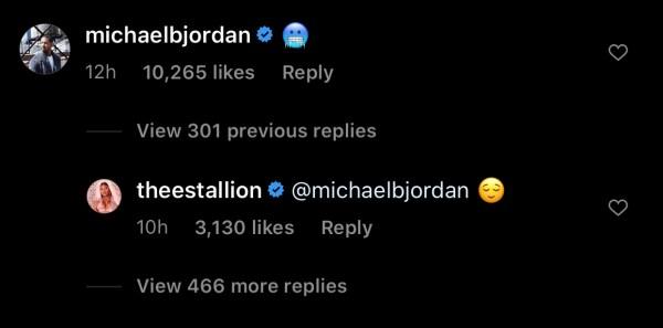 Fans Go Wild After Michael B. Jordan Drops Flirty Emoji Underneath Megan Thee Stallion's Twerk Video