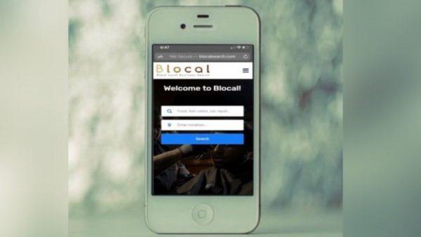 Blocal Search App