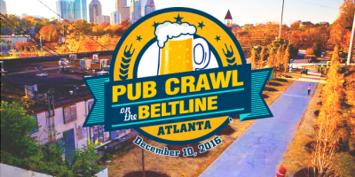 pub crawl on the beltline