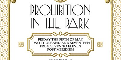 Prohibition in the Park