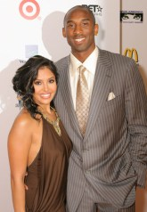 Kobe and his VERY beautiful wife, Vanessa. (After all, what's incomparable style without someone to share it with?)