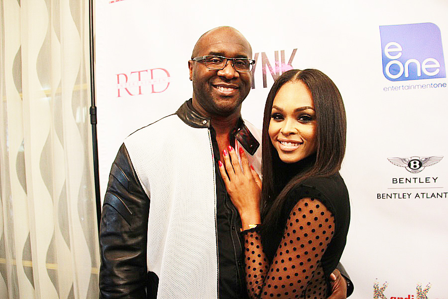 Film producer and director Roger Bobb (Girlfriends Getaway franchise) with Demetria McKinney.