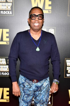 """ATLANTA, GEORGIA - MARCH 10: Gary With Da Tea attends the premiere of """"Waka & Tammy: What The Flocka"""" at Republic on March 10, 2020 in Atlanta, Georgia. (Photo by Paras Griffin/Getty Images WE tv)"""