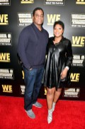 """ATLANTA, GEORGIA - MARCH 10: Von Scales and Trina Braxton attend the premiere of """"Waka & Tammy: What The Flocka"""" at Republic on March 10, 2020 in Atlanta, Georgia. (Photo by Paras Griffin/Getty Images WE tv)"""