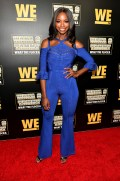 """ATLANTA, GEORGIA - MARCH 10: Taja Simpson attends the premiere of """"Waka & Tammy: What The Flocka"""" at Republic on March 10, 2020 in Atlanta, Georgia. (Photo by Paras Griffin/Getty Images WE tv)"""