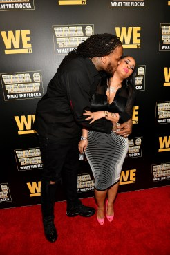 """ATLANTA, GEORGIA - MARCH 10: Waka Flocka and Tammy Rivera attend the premiere of """"Waka & Tammy: What The Flocka"""" at Republic on March 10, 2020 in Atlanta, Georgia. (Photo by Paras Griffin/Getty Images WE tv)"""