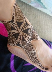 henna_starfish_foot