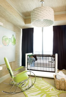 90) Lee Boren Kleinhelter designed this nursery without so much as a single pink or blue hue.