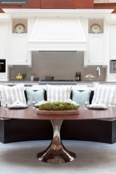 "Form follows function in the Atlanta Homes &""Lifestyles Luxury Kitchen, which was on display at Phipps Plaza for the month of May."